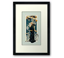 Keep on Balance Framed Print