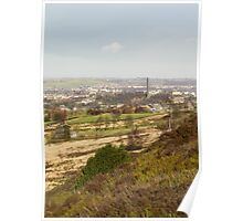 looking over sowerby bridge Poster