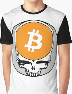 Grateful Dead (Steal Your Face) - Bitcoin 3 Graphic T-Shirt