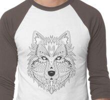 Wolf Custom Men's Baseball ¾ T-Shirt