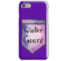 Winter Guard Watercolor Pocket iPhone Case/Skin