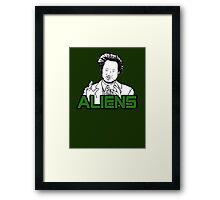 Ancient Aliens Guy Meme Framed Print