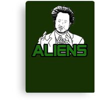 Ancient Aliens Guy Meme Canvas Print