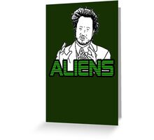 Ancient Aliens Guy Meme Greeting Card
