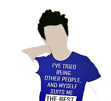 Chris Colfer Inspirational Quote by Spread-Love