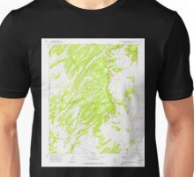 USGS TOPO Map Arizona AZ Big Willow Spring Canyon 314132 1972 24000 Unisex T-Shirt