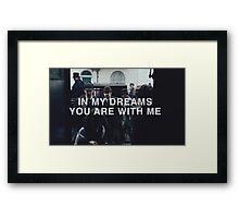 In my dreams Framed Print