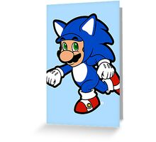 Hedgehog Suit! Greeting Card