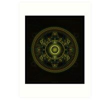 Metatron's Magick Wheel ~ Sacred Geometry Art Print