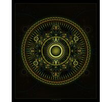 Metatron's Magick Wheel ~ Sacred Geometry Photographic Print