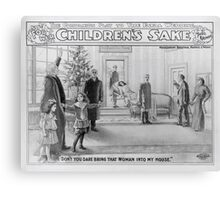 Performing Arts Posters For her childrens sake by Theo Kremer the companion play to The fatal wedding 2821 Canvas Print