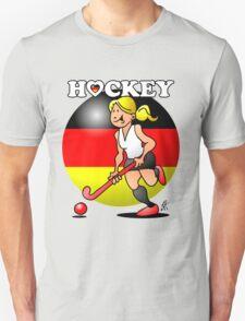 Hockey lady of the German field hockey team Unisex T-Shirt