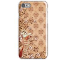 Fur & Feathers: Red Cat iPhone Case/Skin