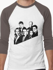 A BTVS motif Men's Baseball ¾ T-Shirt