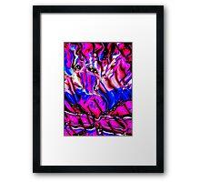 Carnival Ribbon Framed Print