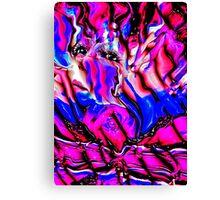 Carnival Ribbon Canvas Print