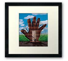 Searching For The Magic Door Framed Print