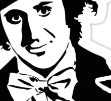 Gene Wilder - Comic Genius Sticker