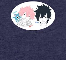 Fairy Tail Natsu, Gray, and Happy Tri-blend T-Shirt