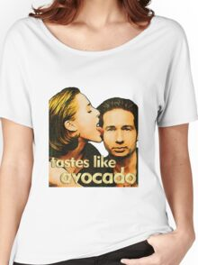 David tastes like avocado Women's Relaxed Fit T-Shirt
