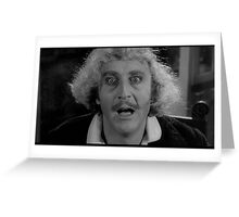 Gene Wilder - Comic Genius 2 Greeting Card