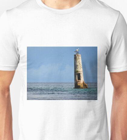 Abandoned Lighthouse in Palau Unisex T-Shirt