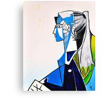 Sylvette - Tribute to Pablo Picasso Canvas Print
