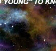 Space Trans Kids Sticker