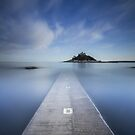 Cornwall - St.Michael's Mount Twilight by Angie Latham