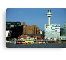 Ferry Cross The Mersey Canvas Print