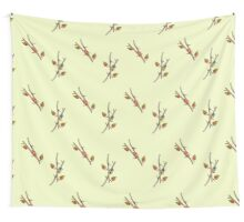 Beetles on Sticks Wall Tapestry