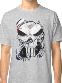 torn skull tee Classic T-Shirt