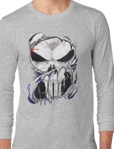 torn skull tee Long Sleeve T-Shirt