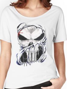 torn skull tee Women's Relaxed Fit T-Shirt