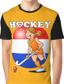 Dutch women's hockey team Graphic T-Shirt
