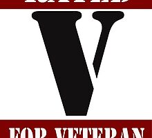 Rated V for Veteran by Buckwhite