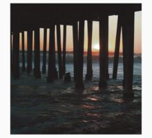Sunset Under The Ventura Pier Kids Tee