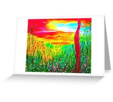 Awakening of the dawn Greeting Card