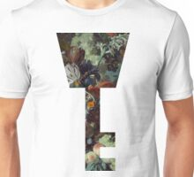 Kingdom Hearts -Key Symbol - Floral Unisex T-Shirt
