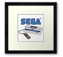 SEGA SG-1000 classic gaming console Framed Print