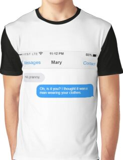 Dowager Texts: Granny burns Mary  Graphic T-Shirt
