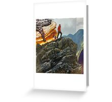 Atop the Mountain Greeting Card