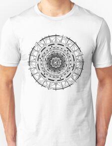 Mandala Om  (black) Unisex T-Shirt