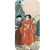3 Kabuki Actors. iPhone Case/Skin