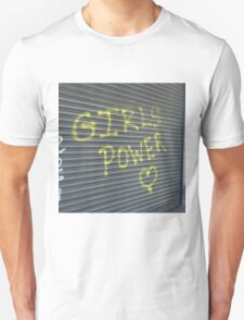 Girl Power Greek Street Graffiti Unisex T-Shirt