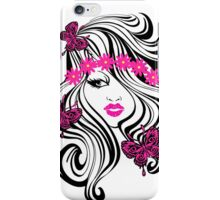 Glamour Girl iPhone Case/Skin