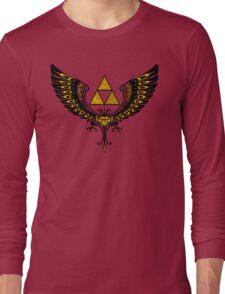 Tri Winged Long Sleeve T-Shirt