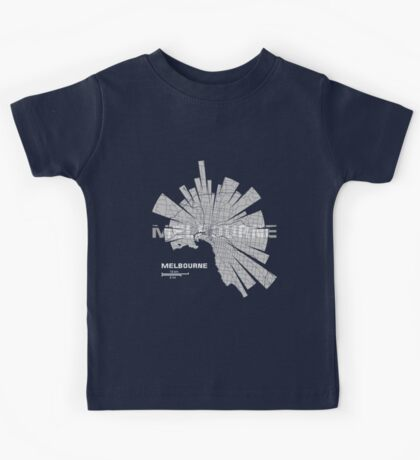 Melbourne Map Kids Tee