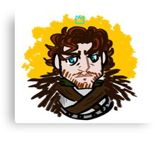 Robb SNARK: Sass King in the North Canvas Print