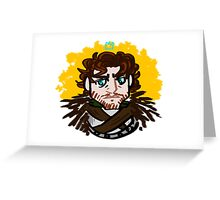 Robb SNARK: Sass King in the North Greeting Card